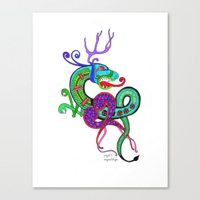 Imagined Dragon Canvas Print