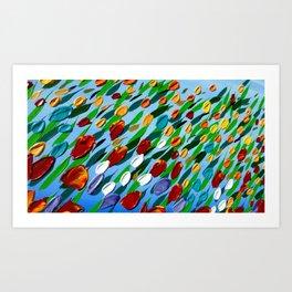 Field of Happiness Art Print