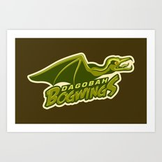 Dagobah Bogwings Art Print