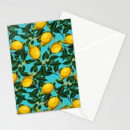 LEMON PATTERN-04 Stationery Cards