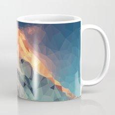 Mountain low poly Mug