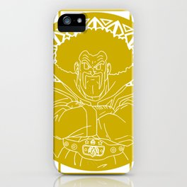 Stained glass - Dragonball - Hercule iPhone Case