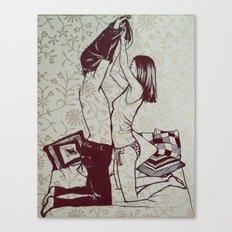 #hatetolove Canvas Print