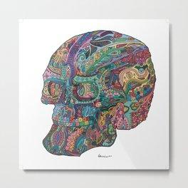 Funkadelic Skull Rebirth Metal Print