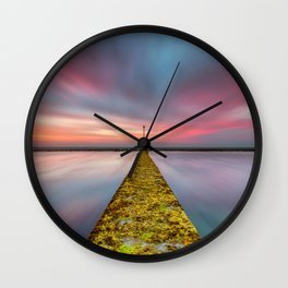 Fixed Link Or The Road To Hell Wall Clock
