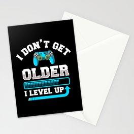 I Don't Get Older I Level Up Gift Stationery Cards