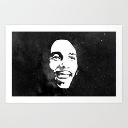 Robert Nesta Marley Art Print