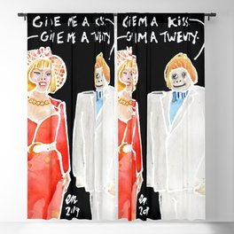 Debbie & Fester Blackout Curtain