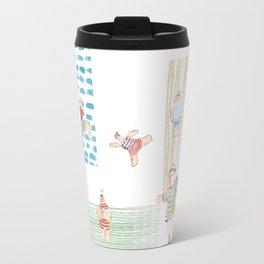 Swimming pool Travel Mug