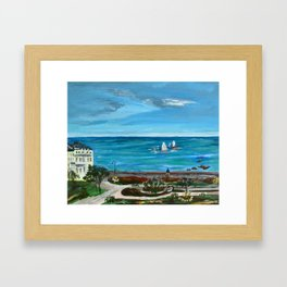 Hastings UK. Warrior Square Framed Art Print