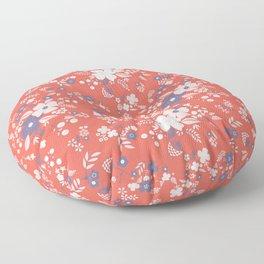 Wild Flowers II Floor Pillow