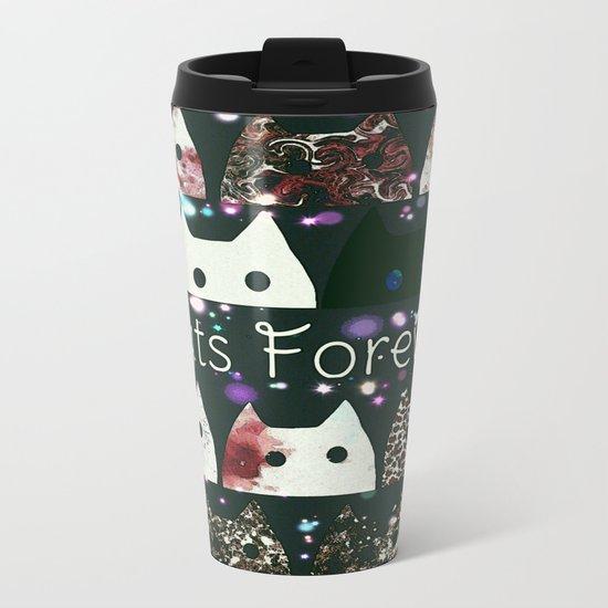 cat-58 Metal Travel Mug