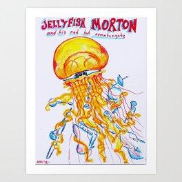 Jellyfish Morton Art Print