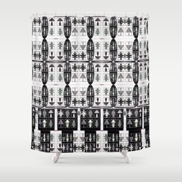Internet of Everything Optical Illusions Shower Curtain
