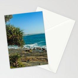 Pandanus Palms- Moffat Beach, Australia Stationery Cards