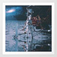 Project Apollo - 9 Art Print