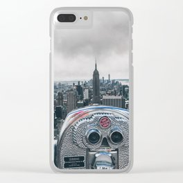 New York, NY Clear iPhone Case