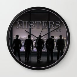 The Misters by JA Huss Wall Clock