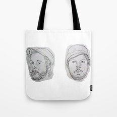Modest Beards Tote Bag