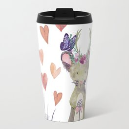 Lufkin Mouse Holds The Key - Bagaceous Travel Mug