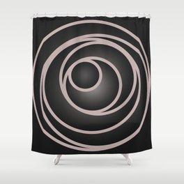 Hula Hoop Shower Curtain