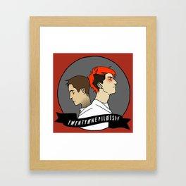 21p Framed Art Print