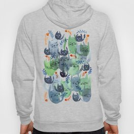 A Quiet Cacophony of Cats Hoody