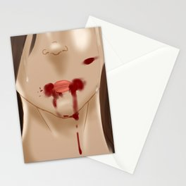 Kenzie .:Tears of Pain:. Stationery Cards