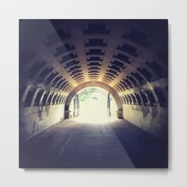 Tunnel's end Metal Print