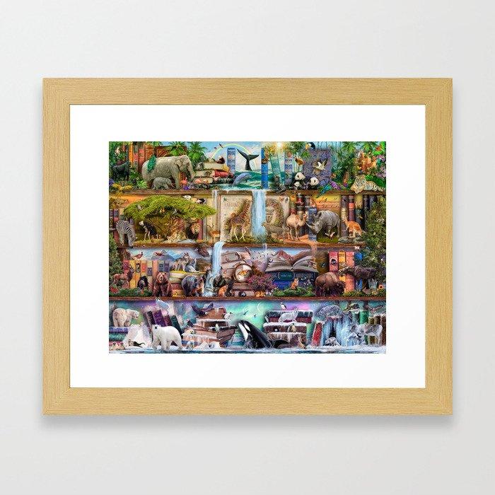 The Amazing Animal Kingdom Framed Art Print