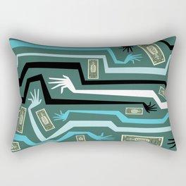 All Hands Rectangular Pillow