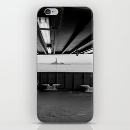Statue of Liberty from the Ferry iPhone Skin