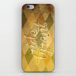 "TYRANT ""Vintage"" iPhone Skin"