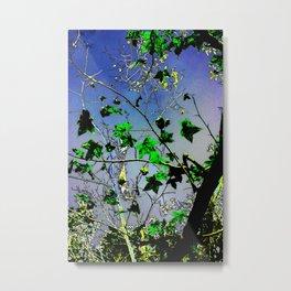Bayou Stars (neon) Metal Print