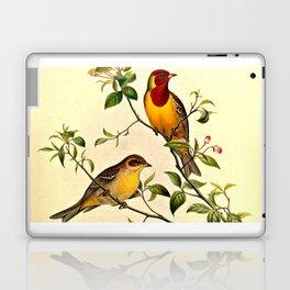 Red-Headed Bunting Laptop & iPad Skin