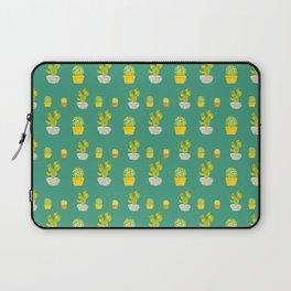Greeny Cactus Laptop Sleeve
