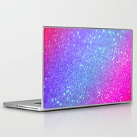 glitter Laptop & iPad Skins featuring glitter by haroulita