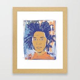 Basquiat! Framed Art Print