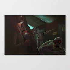 Fear Canvas Print