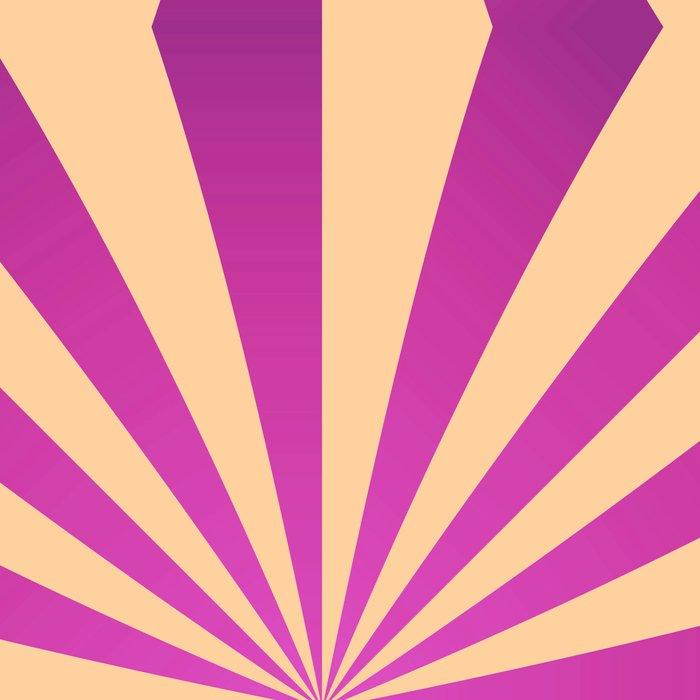 Purple and pale yellow - Geometric game Leggings