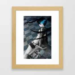 Black Rock Shooter Framed Art Print