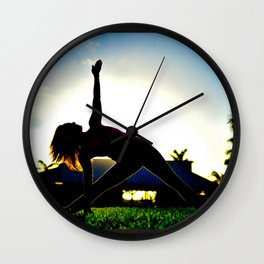 Inner Strength.  Wall Clock