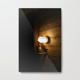Darkness Consumes The Light Metal Print