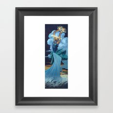 Storm Bringer Framed Art Print