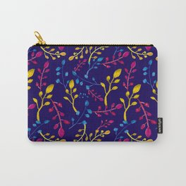 Cute and Colourful Leaf Print Carry-All Pouch