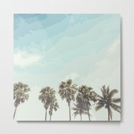Windy Palms Metal Print