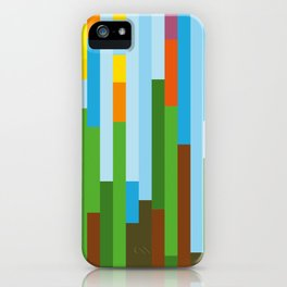 Rainforest Twilight iPhone Case