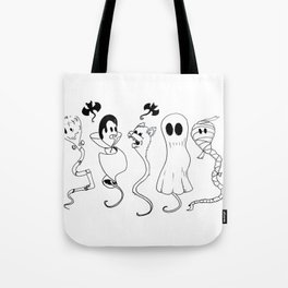 Happy Halloween from the whole family Tote Bag