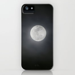 First Full Moon of 2018 iPhone Case
