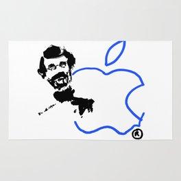 Registered (Apple & Steve) Digital Rug